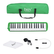 gren  IRIN 37 Key Piano Style Melodica Musical Instrument With Carrying Case