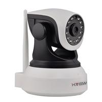 H. View WiFi Wireless 720 P Cámara IP WiFi Cámara IP de Dos Vías Monitor Del Bebé Audio Pan Tilt Cámara de Seguridad Fácil de Escanear EL CÓDIGO QR conectar
