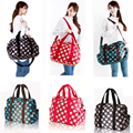 Multifunctional 3 Colors Baby Diaper Nappy Changing Bags Large Capacity Waterpoof Star Pattern Nappy Handbags Tote
