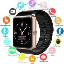 Умные часы GT08 Детские мужские и женские детские часы телефон sim-карта камера часы Bluetooth Smartwatch gt 08 подключение к Android IOS PK Q18