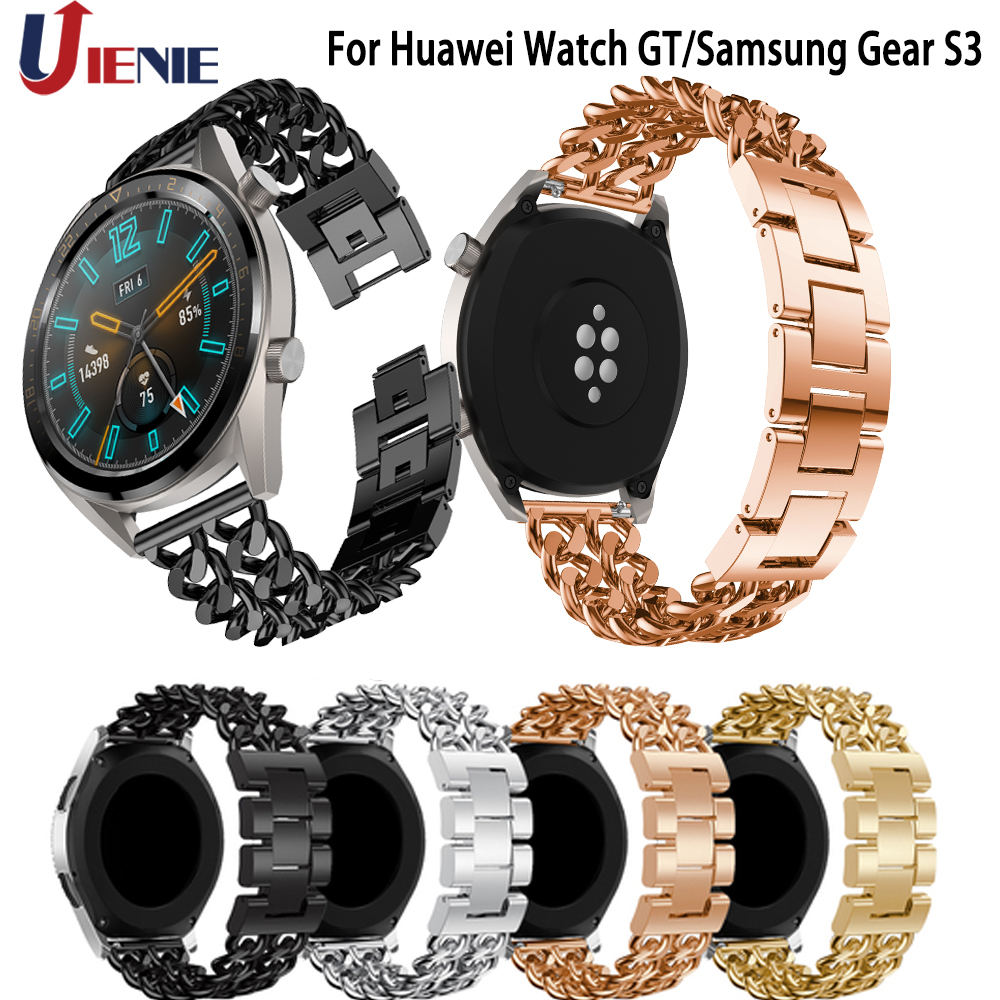 Permalink to Watchband Straps Bracelet for Samsung Gear S3 Classic Frontier 22mm Smart Watch Bands for Huawei Watch GT/Galaxy Watch 46mm