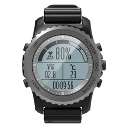Smart Watch Adventurer Running Swimming Heart Monitor Compass Altimeter Barometer Thermometer Sport Waterproof GPS Watch GPS