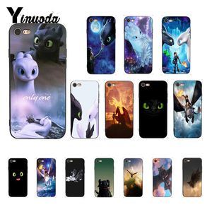 Yinuoda Toothless Train Your Dragon Black TPU Soft Silicone Phone Case Cover for iPhone 8 7 6 6S 6Plus X XS MAX 5 5S SE XR Cover(China)