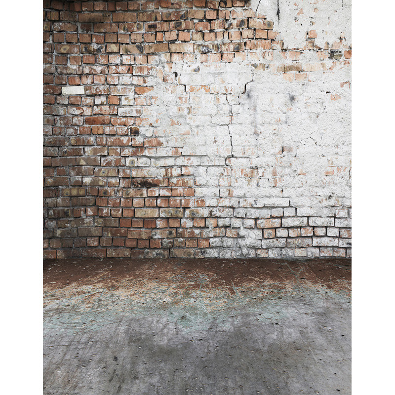Customize vinyl cloth print 3 D brick wall photo studio backgrounds for photography photographic backdrops props S-2585 7x5ft vinyl photography background white brick wall for studio photo props photographic backdrops cloth 2 1mx1 5m