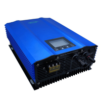 1200W power inverter grid Color display DC to AC output power battery discharge pure sine wave home solar System High efficiency