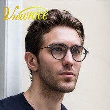 Lunette ronde Vintage de vue Transparent glasses Retro Men Glasses Women Optical Frame Round Computer glasses Tortoise Brand ae