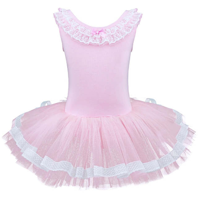 6791eea958d9 Online Shop Child Girls Gymnastic Ballet Leotard Tutu Dance Dress ...