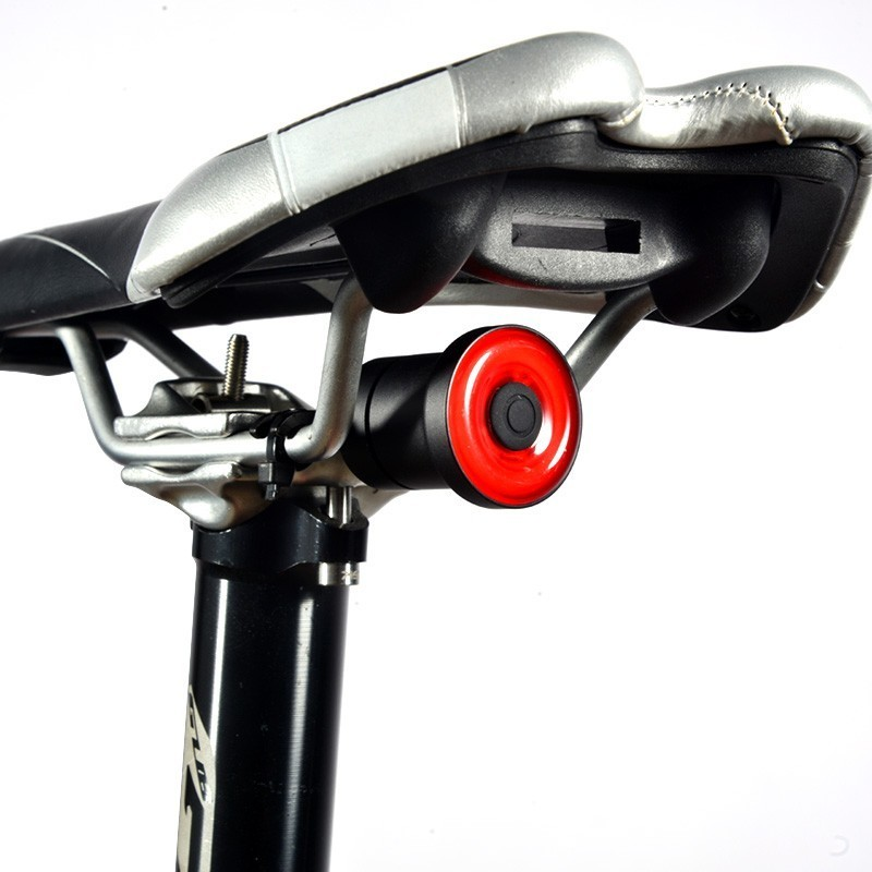 FRENO BICI IMPERMEABILE LUCE LED LAMPADA Mountain Bicicletta Ciclismo Accessori Nobile