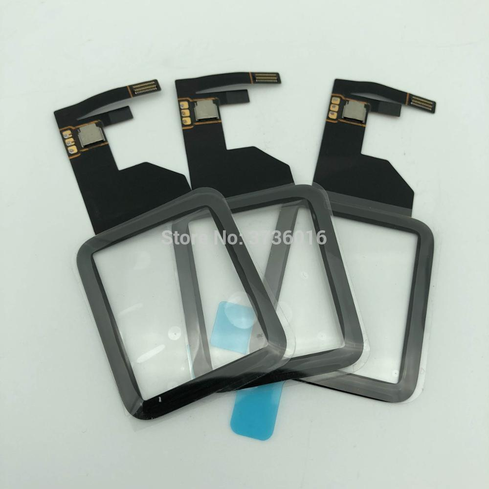 Digitizer LCD <font><b>screen</b></font> panel For <font><b>apple</b></font> <font><b>watch</b></font> Series 1 <font><b>42mm</b></font> front display glass wrong ,damaged <font><b>replacement</b></font> repair 100% brand new image