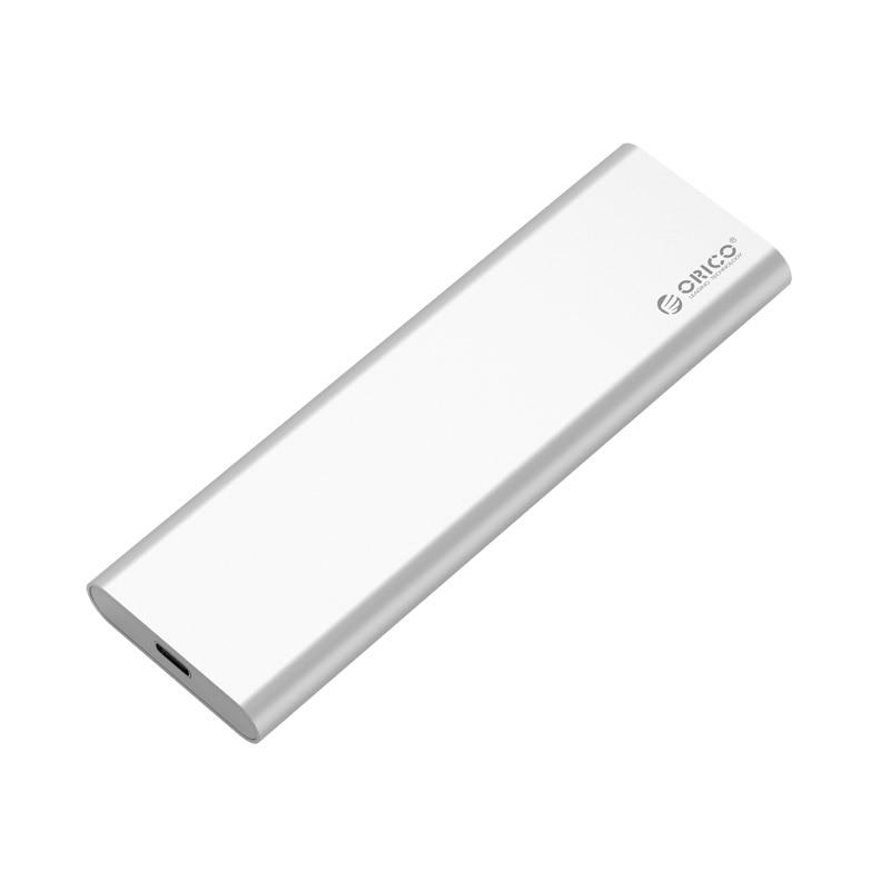 Ücretsiz kargo ORICO Alüminyum Çift Bay mSATA Tip-c SSD Muhafaza USB3.1 GEN2 Desteği 10 Gbps Yüksek hızlı mac-Gümüş MSG-RC3