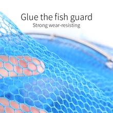 Handing multilayer Fishing Net Utility Folding Fish Care Creel Tackle Portable Fishing Net Small Mesh Large Mesh fishing trap
