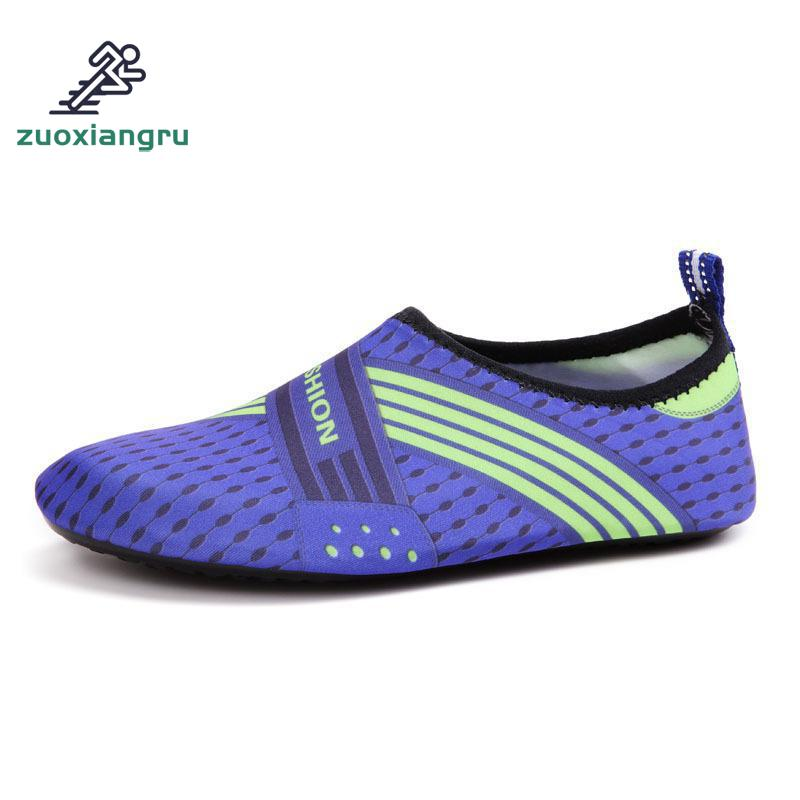 Zuoxiangru Summer Men Women Beach Diving Swimming Shoes Outdoor Loafers Slip-ons Wading Water Shoes Scuba Snorkeling