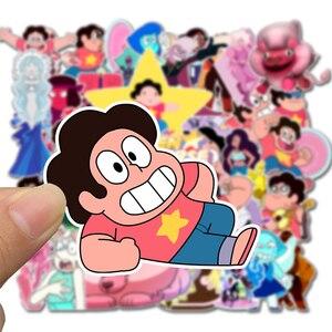 Image 2 - 50 Stuks Pack 2020 Nieuwe Leeuw Steven Universe Stickers Set Speelgoed Sticker Voor Bagage Skateboard Motorfiets Laptop Pvc Sticker