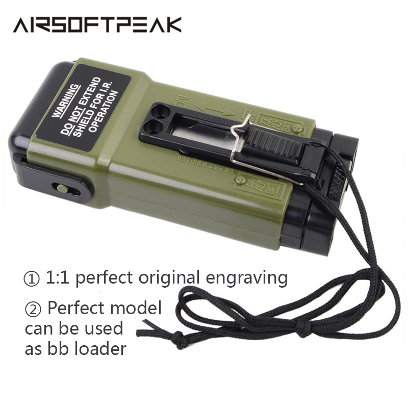 FMA MS2000 Airsoft Working Distress Marker Functional Strobe Light For Helmet