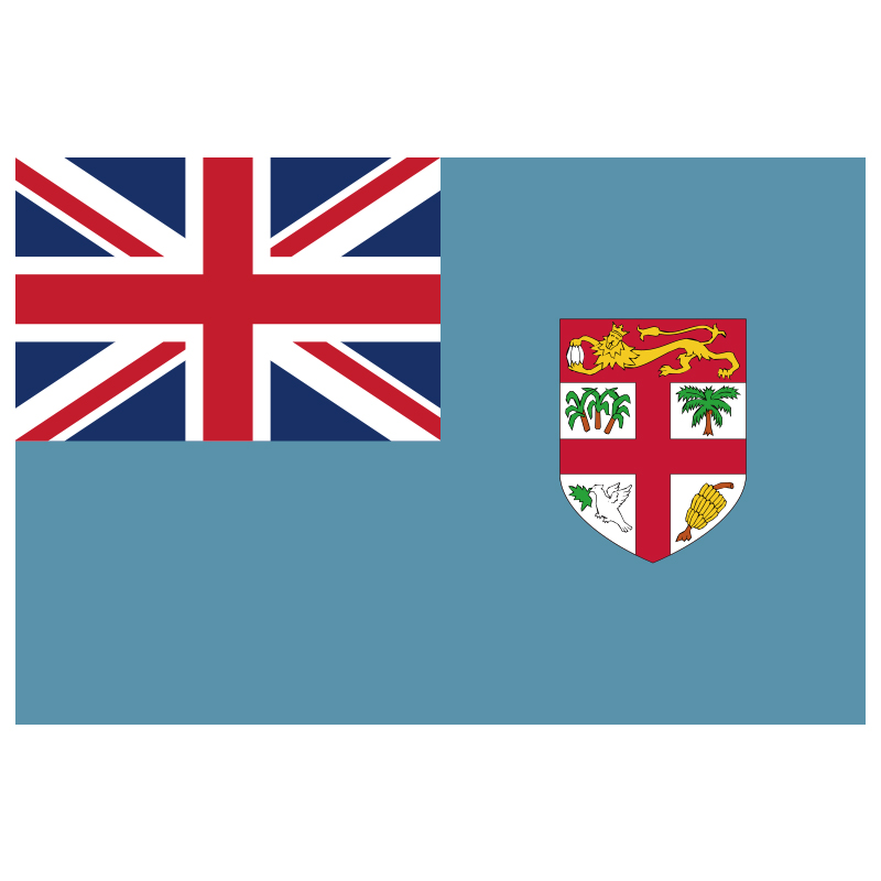 Us 3 5 Free Shipping Xvggdg New Fiji Flag 3ft X 5ft Hanging Polyester Standard Fiji Islands Flag Banner In Flags Banners Accessories From Home