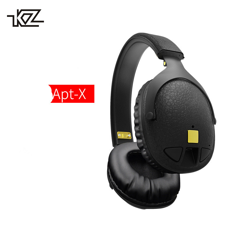 Original KZ LP5 Latest Bluetooth Earphone Apt-X Wireless Headphone + Wired Bass Headset Portable Headband Foldable Headphones portable bluetooth v3 0 wireless headband headphone orange white href