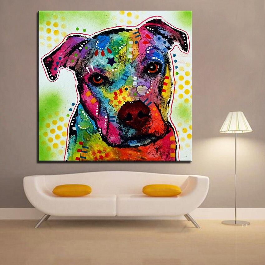 Große größe Druckölgemälde springer spaniel wandmalerei Dekoratives Wandkunst Bild Für Wohnzimmer paintng Kein Rahmen