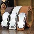 2016 new man designer black belt white fashion riemen high quality formal kemer
