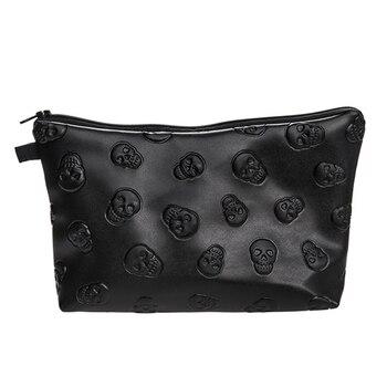Waterproof Cosmetic Makeup Purse Wash Bag Organizer Pouch Pencil Case Handbag 1