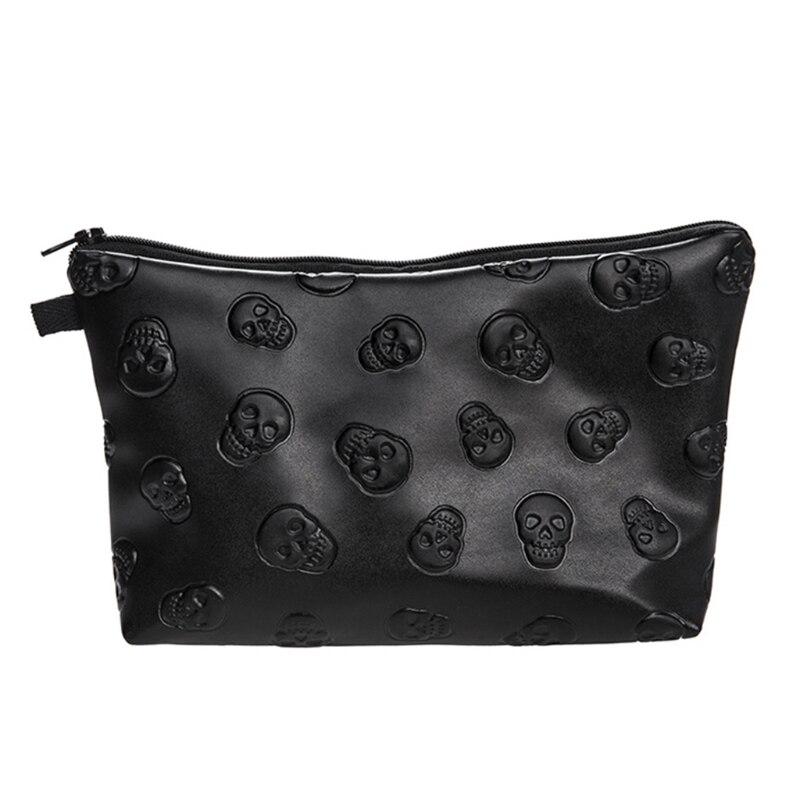 Waterproof Cosmetic Makeup Purse Wash Bag Organizer Pouch Pencil Case Handbag