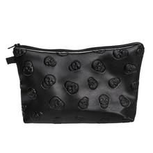 Водонепроницаемый косметика макияж кошелек стирка сумка органайзер сумка карандаш чехол сумочка