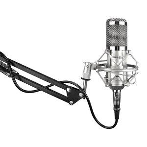 Image 5 - Felyby bm 800 コンデンサーマイクコンピュータ音声チャットプロフェッショナルレコーディングスタジオ 48 48v ファンタム電源 usb サウンドカードフィルター