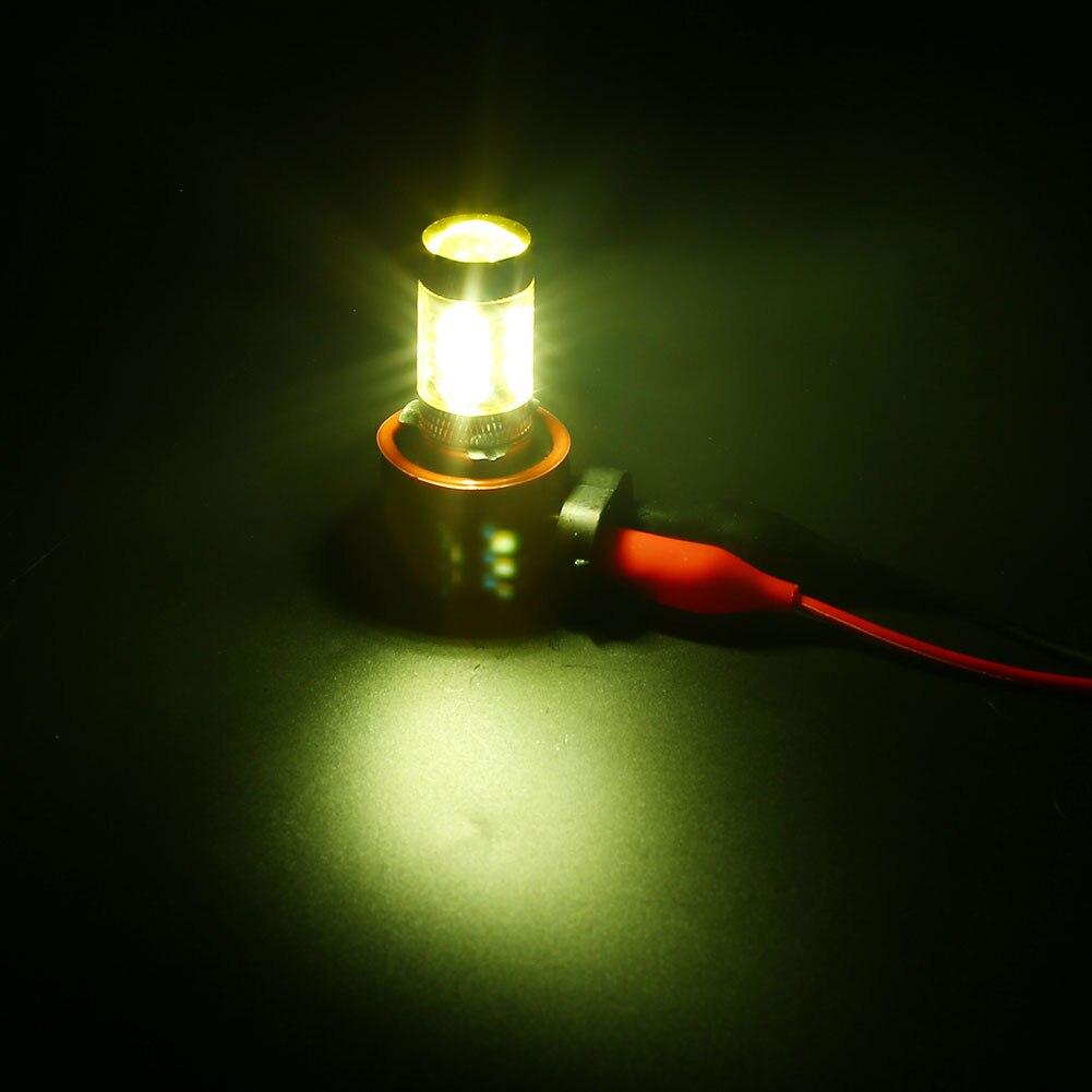 Vehemo 2PCS H8 H11 80W 3000K LED Car Driving Fog Lights Lighting Lamp Bulb Yellow New ...