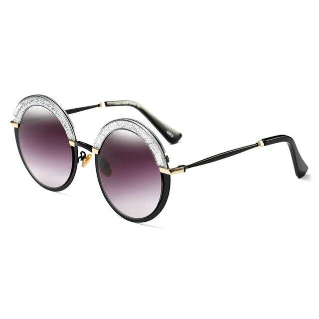 MINCL Damen Sonnenbrille, violett