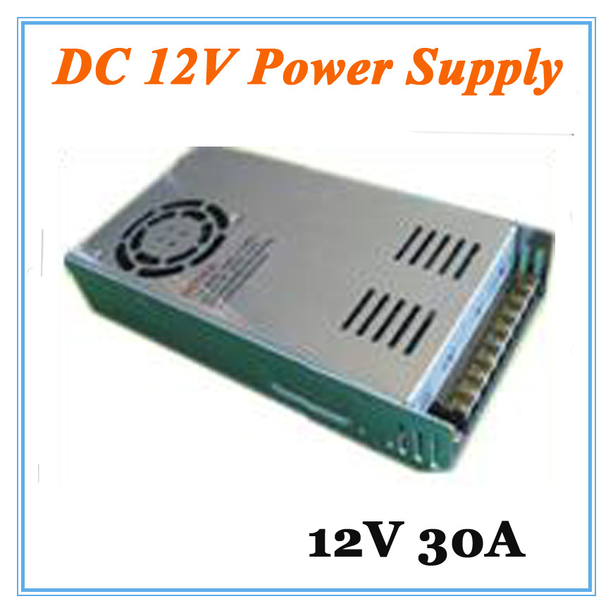 DC12V 30A Power Supply Adaptor for CCTV Camera CCTV System 12V Security professional Converter Adapter 12v 5a 8ch power supply adapter work for cctv suveillance camera system dc 12v power supply 8 port dc pigtail coat
