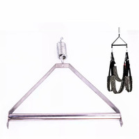 Sex Swing Trapeze Metal Tripod Angle Iron BDSM Bear 250kg Adult Game Chair Sexual Toys Sex Furniture For Couple With Cushion 1