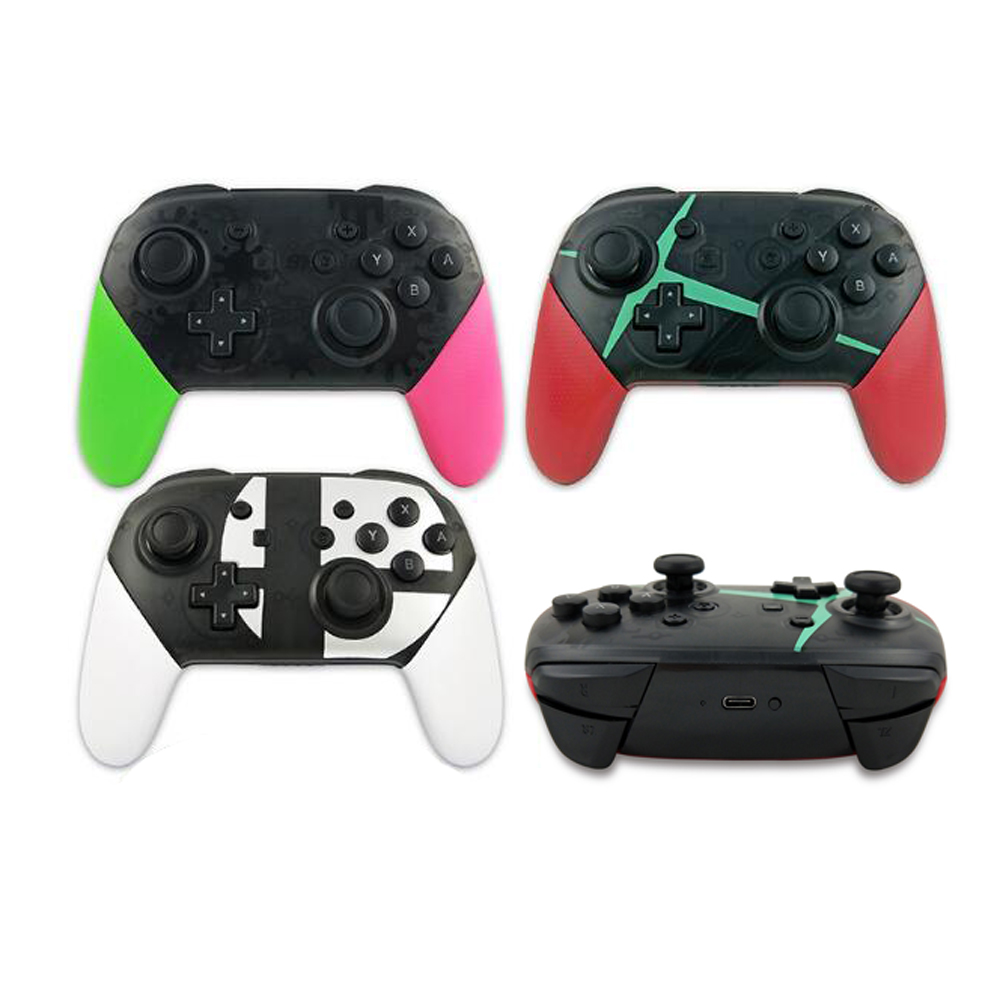 Video Games Wireless Bluetooth Controller For Switch Ns Pro Host Gamepad Mobile Console Shock Joystick To Help Digest Greasy Food