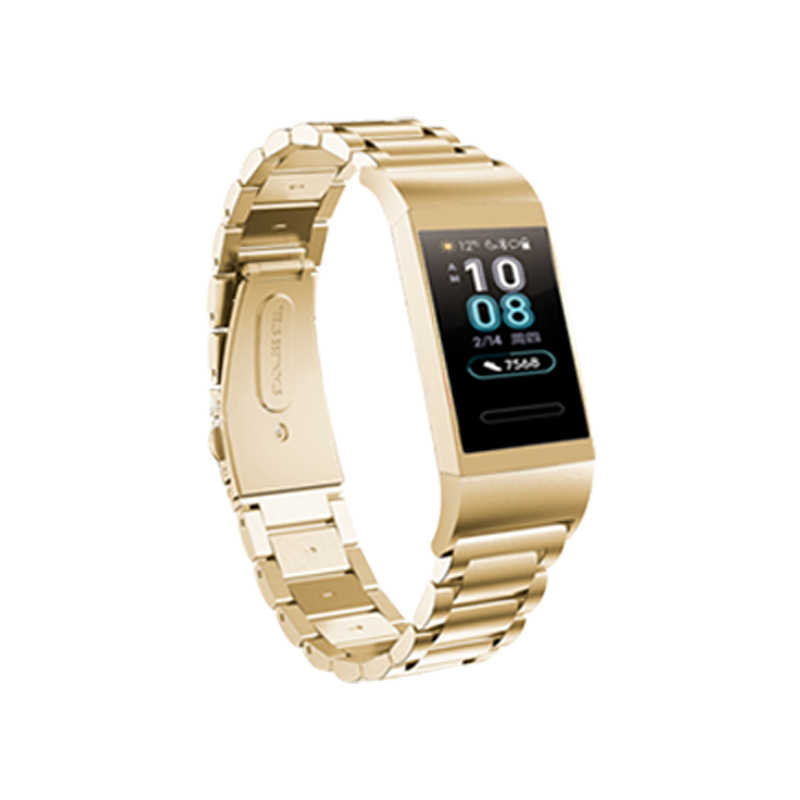Bracelet for Huawei Band 3 Pro Strap Metal Replacement Wrist Strap Stainless Steel Wristband Huawei Band 3pro Strap Accesorio