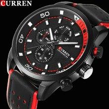 2017 curren reloj con estilo hombres de la marca de lujo de los hombres reloj de cuarzo resistente al agua reloj de los hombres relojes de pulsera relogio masculino reloj hombre