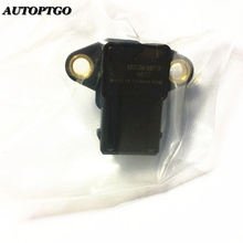 Genuine MD305600 Turbo Map Sensor For Mitsubishi Eclipse Galant Lancer Sebrina Stratus Manifold Intake Air Pressure Sensor 2pcs original news for 3 5bar map sensor turbo boost air pressure sensor 0281002456 0 281 002 456 0261230373