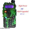 BAOFENG UV-8HX Hot Portable Radio UV-5R New Versio than dm-5r baofeng walkie talkie dual band  pofung 8W VHF/UHF Baofeng UV 5R