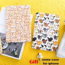 Cat Dog Magnet Flip Cover For iPad Pro 9.7
