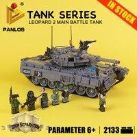 DIY Bricks for kids TANK SERIES Leopard 2 Main Battle Tank Educational Blocks Compatible With lego city Building Toys hobbies