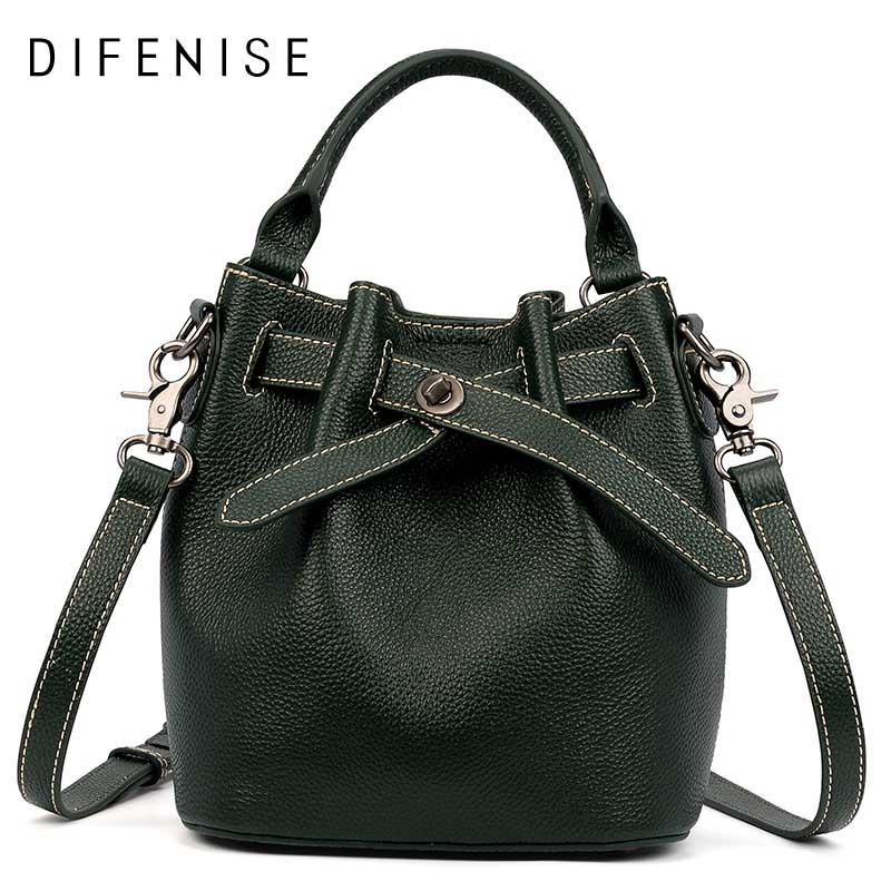 Difenise Women Shoulder Bag Famous Brand Bucket Bag Drawstring Bucket Bag Crossbody Messenger Handbag with Small Pouch Gift box