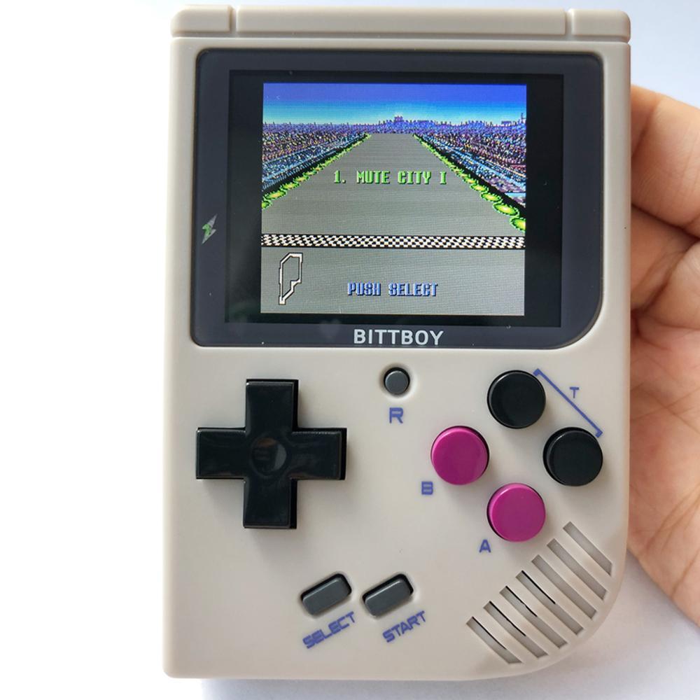 Jeu vidéo rétro, BittBoy V3.5 + 8 GB/32 GB, console de jeu, lecteurs de jeux portables, Console rétro, charger plus de jeux à partir de la carte SD - 6