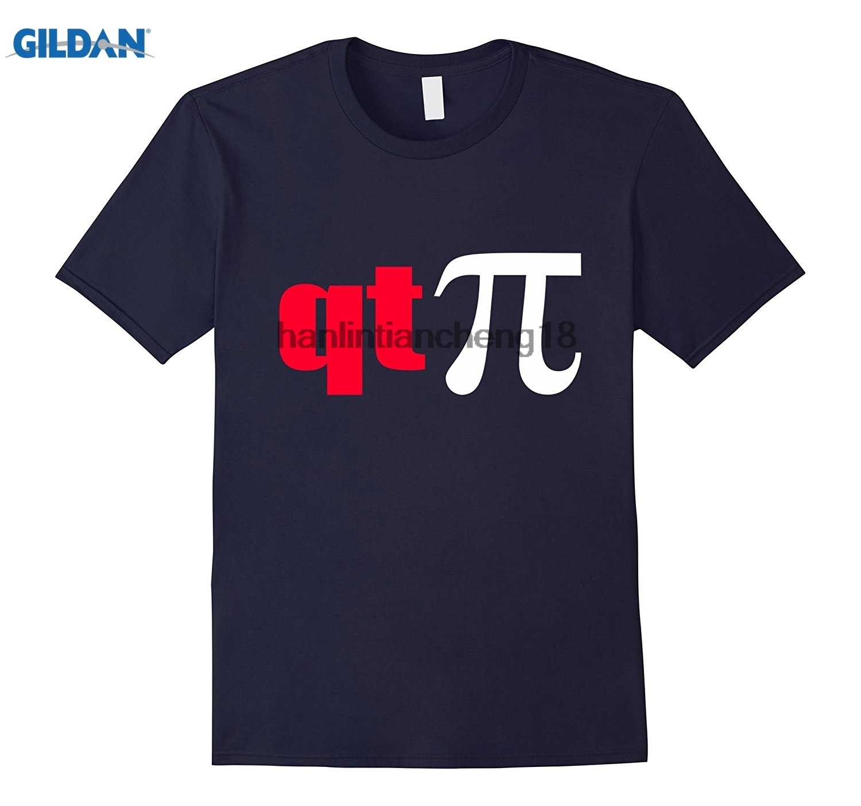GILDAN 2018 QT Pi Symbol T-Shirt Funny Cutie Pie Math Science Geek Tee
