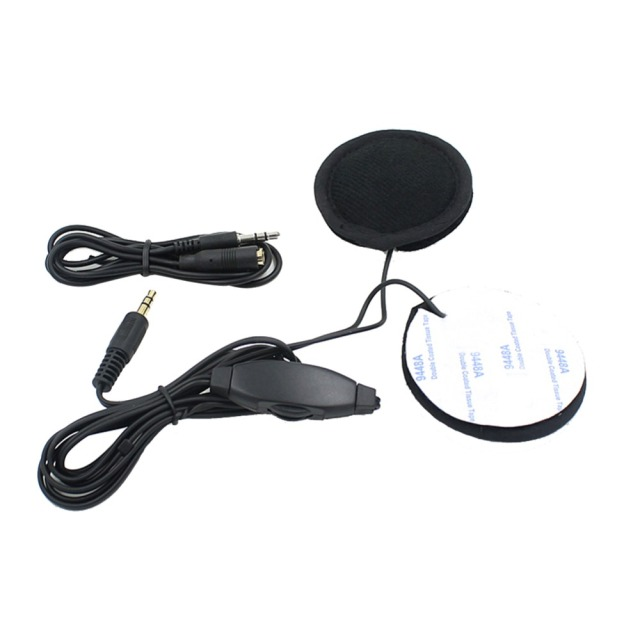 Motorbike Motorcycle Helmet Headset Speakers 3.5mm jack Earphone Headphone Speaker for Motorcycle Helmet Interphone MP3/GPS 3