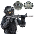 New Military field Tactical gear helmet/CS field sports Mask+helmets Commando Combat  Paintball air gun tatico militar Helmet