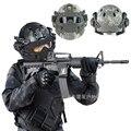 Novo campo Militar artes Tático capacete campo/CS Máscara esportes + capacetes tatico militar Commando Combate Paintball pistola de ar capacete