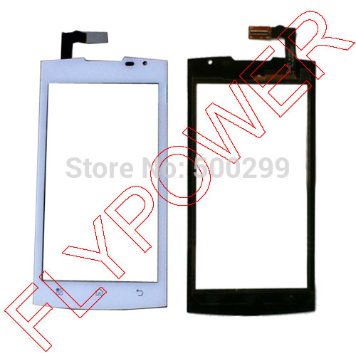 For Prestigio PAP Duo 4500 Touch Screen Digitizer panel glass white by Free Shipping