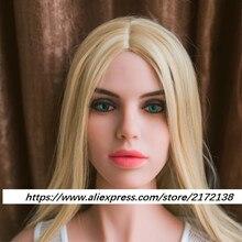 New Wmdoll Head  robot doll head for full body  Sex Doll  for men White skin
