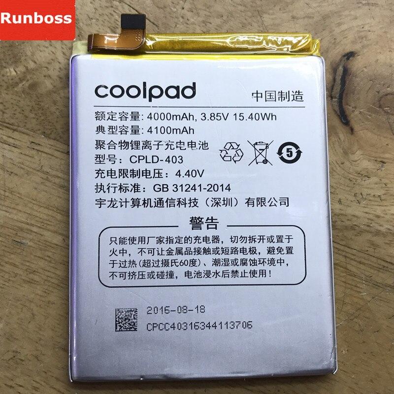 Original Neue Batterie Für LeEco Letv le3 Le 3 LeRee & Coolpad Kühlen 1 Dual Pro Handy Wiederaufladbare Li-Ion batterien 4000 mah