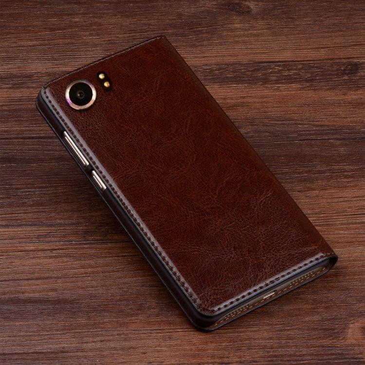 outlet store cda8e dcd68 LJ10 Genuine Leather Flip Case Cover Blackberry Keyone DTEK70 Phone  Blackberry Keyone Flip Case Cover