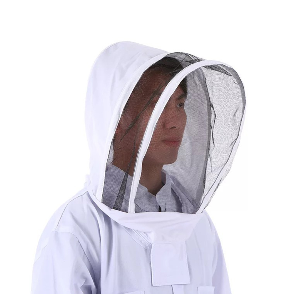 Image 2 - Outdoor Tools Beekeeping Veil Suit Jacket Thick Beekeeper Protective Clothing Anti bee Clothes Bee Hat Equipment Outdoor Tools-in Outdoor Tools from Sports & Entertainment
