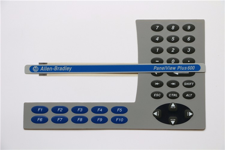2711P-B6M20A8  2711PB6M20A8 2711P-B6 Membrane Keypad for Allen-Bradley PanelView Plus 600 series, Fast Shipping new protective film or membrane for allen bradley panelview plus 1000 2711p t10 all series hmi free ship 1 year warranty