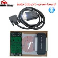 Новинка года! С Bluetooth Черный VD TCS CDP PRO PLUS+ светодиодные кабели Авто obd2 диагностический инструмент для автомобилей/грузовиков